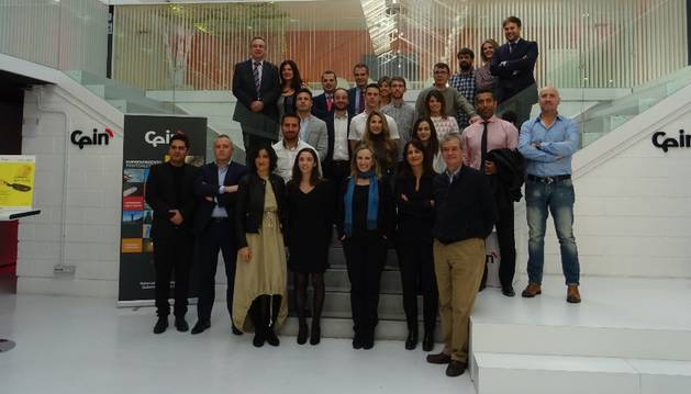Participantes de la quinta edición del programa 'Impulso emprendedor'