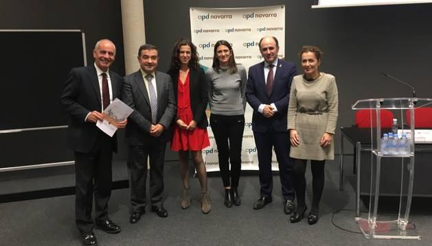Celebración del acto sobre Formación Profesional Dual en Navarra