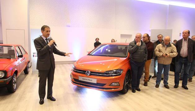 Periodistas especializados prueban en Pamplona el nuevo Volkswagen Polo