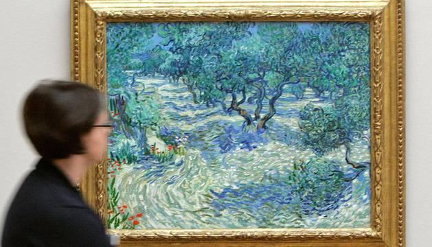 'Los olivos', la obra en la que estaba el saltamontes
