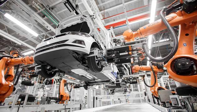 Presentación del nuevo Volkswagen Polo, fabricado en Navarra.