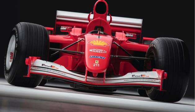 Imagen del coche subastado.