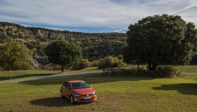 El nuevo Volkswagen Polo, a vista de dron.
