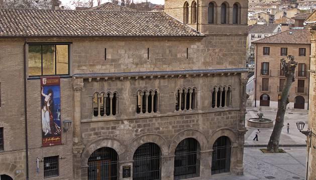 Imagen del Museo Gustavo de Maeztu, enclavado en el barrio monumental de Estella.