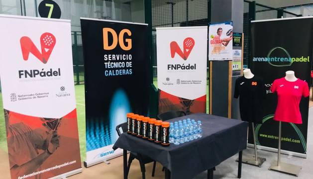 Las instalaciones de Arena Entrena Pádel Club (Beriain) acogen el torneo.