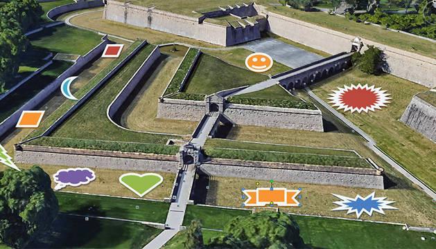 Los jardines se instalarán en los fosos de la Ciudadela.