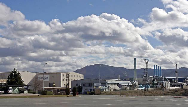 Vista de la planta de Viscofán en Cáseda.
