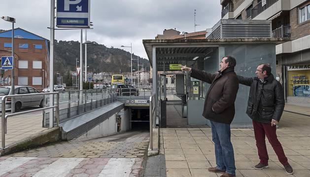 El aparcamiento subterráneo, también prorrogado pero en uno de los casos con margen aún para ello.