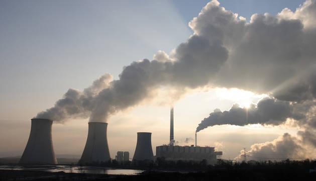 Central de carbón.