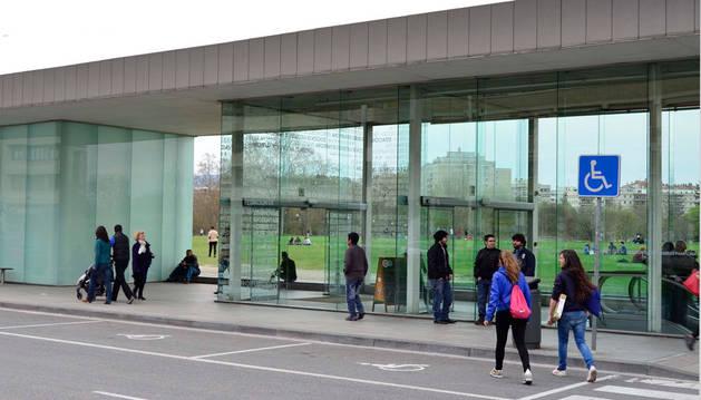 Imagen de la estación de autobuses de Pamplona.