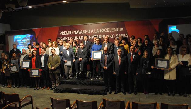 La Asociación de esclerosis múltiple de Navarra, Premio Navarro a la Excelencia 2017