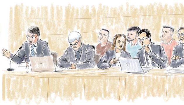 Las conclusiones del juicio en ilustraciones