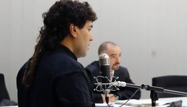 Jorge C.C., en la Audiencia Nacional.