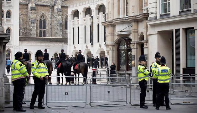 Ignacio Echeverría recibe a título póstumo el mayor honor de la policía británica