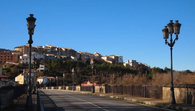 Vista general de Cáseda, el mayor ayuntamiento perteneciente al consorcio Tierras de Javier.