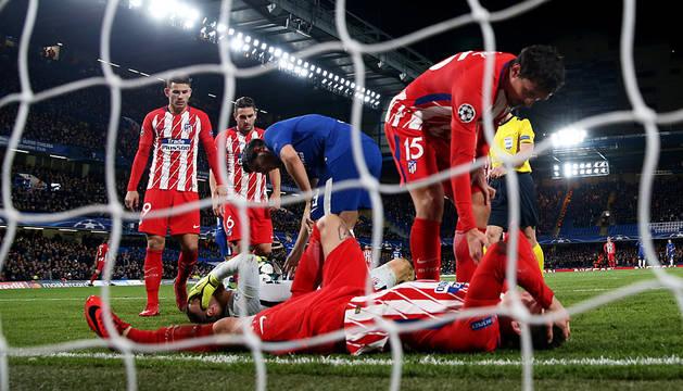 El Atlético se quedó sin milagro en Stamford Bridge (1-1)