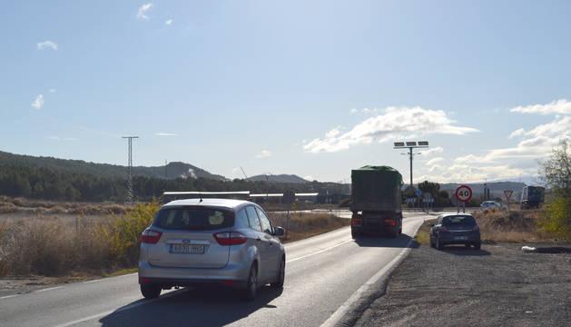 El vial de 110 metros comunicará el polígono del Ramal con la Na 6221 y la NA 123.