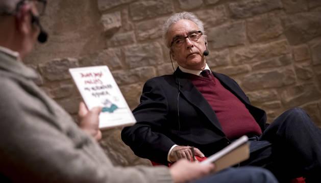 Juan José Millás impartió este martes una conferencia en la que habló de su libro 'Mi verdadera historia'.