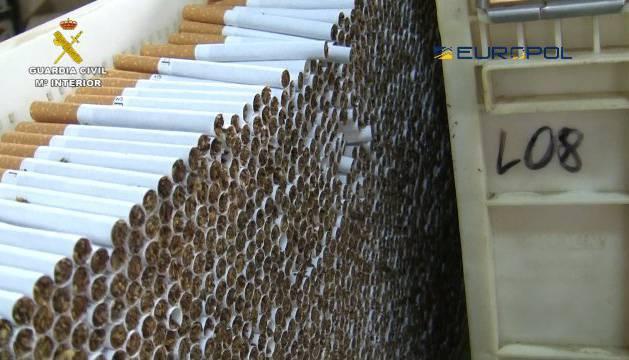 Una fábrica ilegal de tabaco en Granada