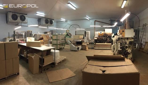 La fábrica ha sido desmantelada en una operación conjunta de Europol y Guardia Civil