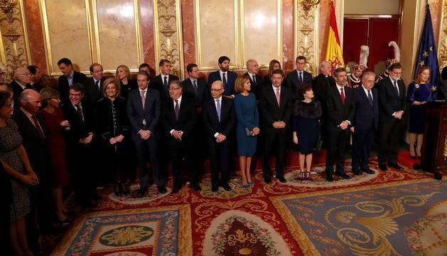 Barkos, ausente en la recepción del Congreso y el Senado a la plana mayor de la política
