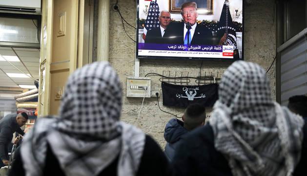Trump confirma que EE UU reconoce a Jerusalén como capital de Israel