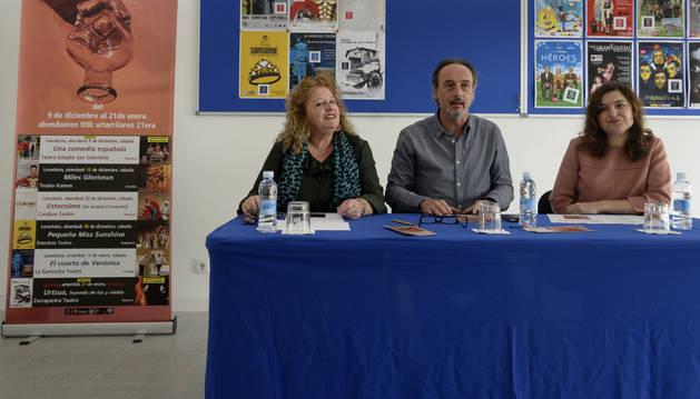 Carteles de las obras que podrán verse en el VIII Festival de teatro del Tercer sector.
