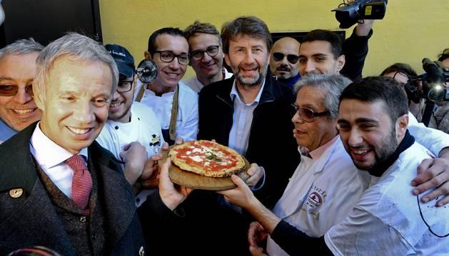 El ministro italiano, en Napoles