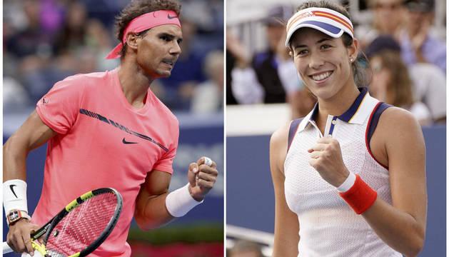 Nadal y Muguruza devuelven al tenis nacional a lo más alto