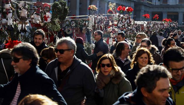 Hoteles casi llenos en Madrid, mientras que en Barcelona desciende la ocupación