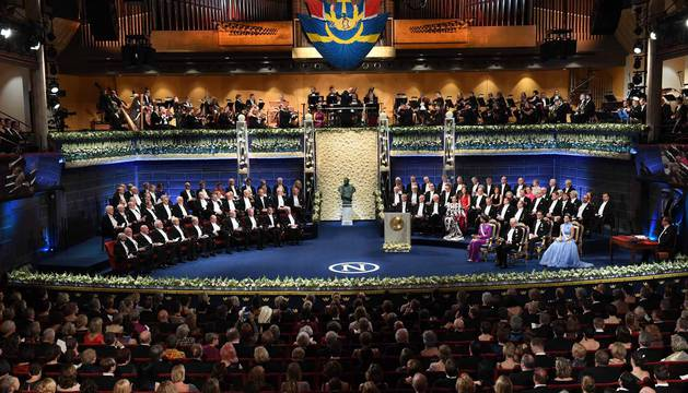 Gala de entrega de los Premios Nobel 2017 en Oslo
