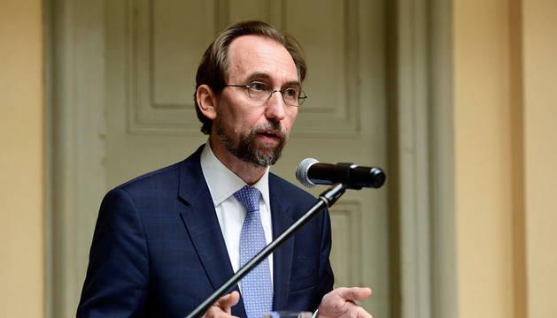 Imagen de Zeid Raad al Hussein, Alto Comisionado de la ONU para los Derechos Humanos.