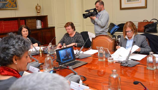 La consejera Beaumont en la Comisión de Coordinación del Consejo General del Poder Judicial
