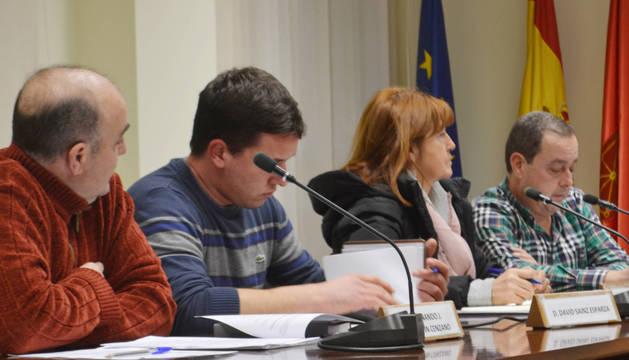 Grupo regionalista en el Ayuntamiento de Mendavia.