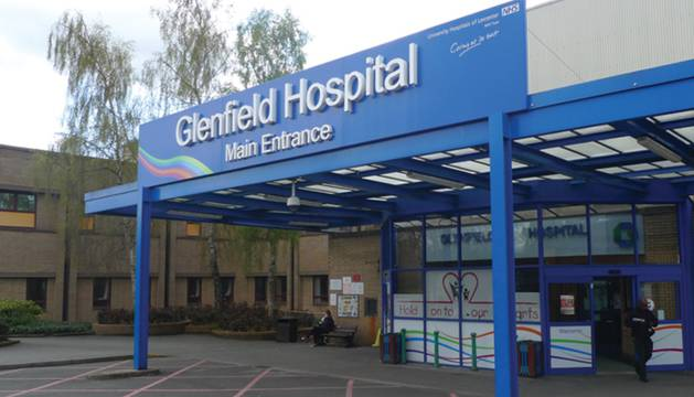 El Hospital Glenfield.