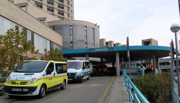 Hospital Clínico de Zaragoza donde ha fallecido Víctor López.
