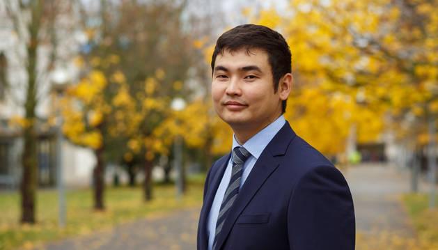 Imagen de Bakhtiyar Orazbayev, físico de la UPNA.