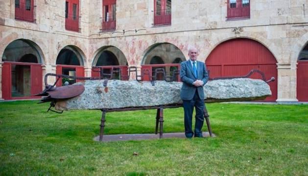 Santiago Muñoz Machado, secretario de la RAE, en Salamanca.