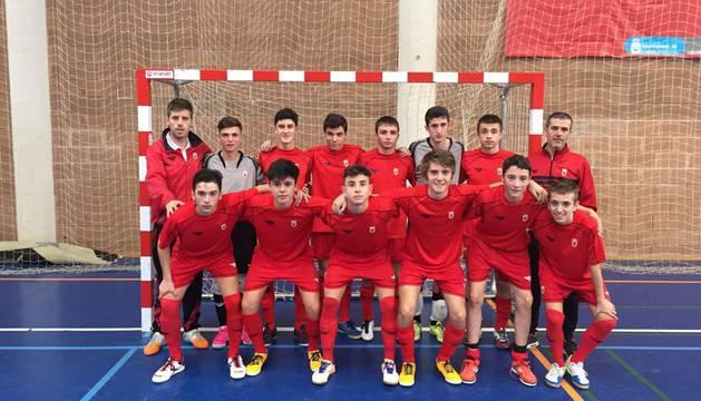 Selección de Navarra sub-16.