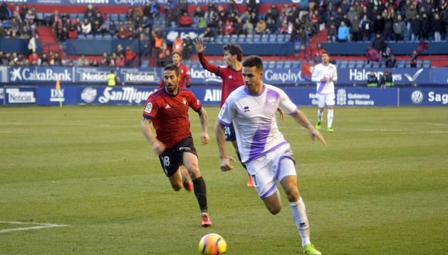 Osasuna jugó en casa este sábado 16 de diciembre contra el Numancia