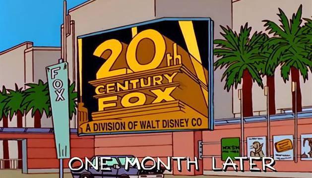 Los Simpsons ya presagiaron que Disney compraría la Fox en 1998