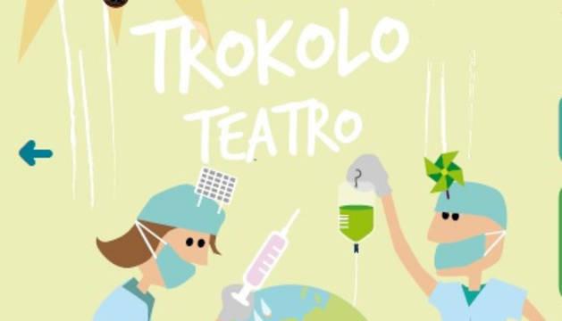 Cartel anunciador de la obra de teatro.