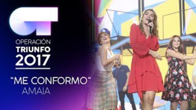 ME CONFORMO - Amaia | OT 2017 | Gala 8