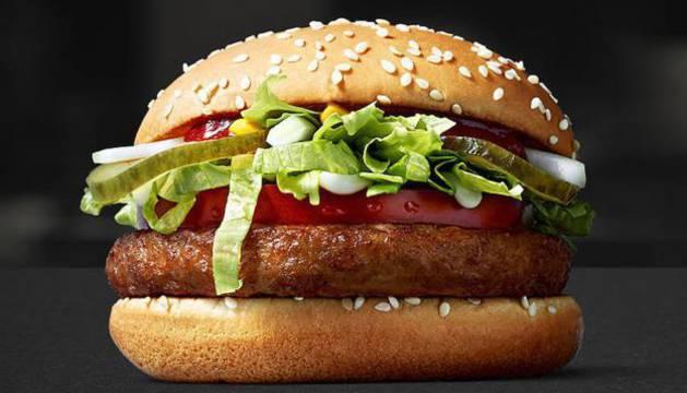 La hamburguesa vegana