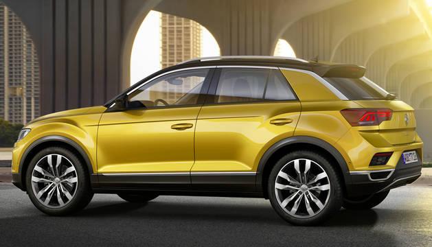 El Volkswagen T Roc, un nuevo todocamino de Volkswagen.