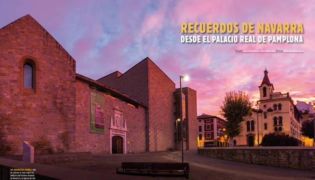 Imagen del reportaje sobre el Palacio Real de Pamplona.