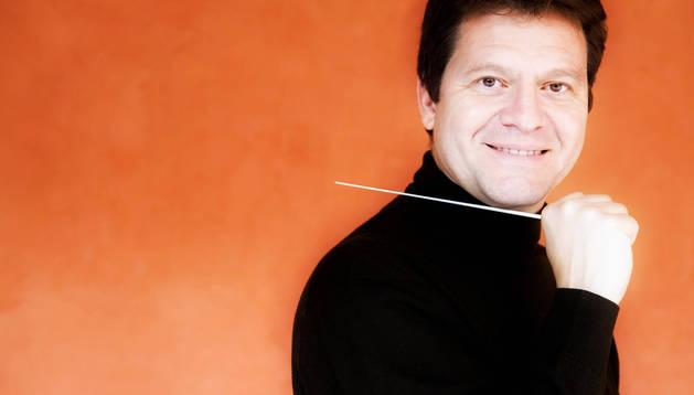Director de la Orquesta Sinfónica de Navarra, Manuel Hernández Silva