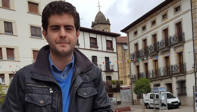 Javier Ollo, alcalde de Alsasua