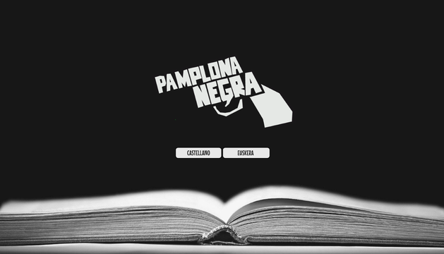 Web de Pamplona Negra