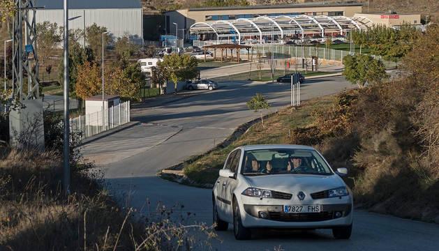 foto de Ardantze, en una imagen con la cubierta todavía en instalación.